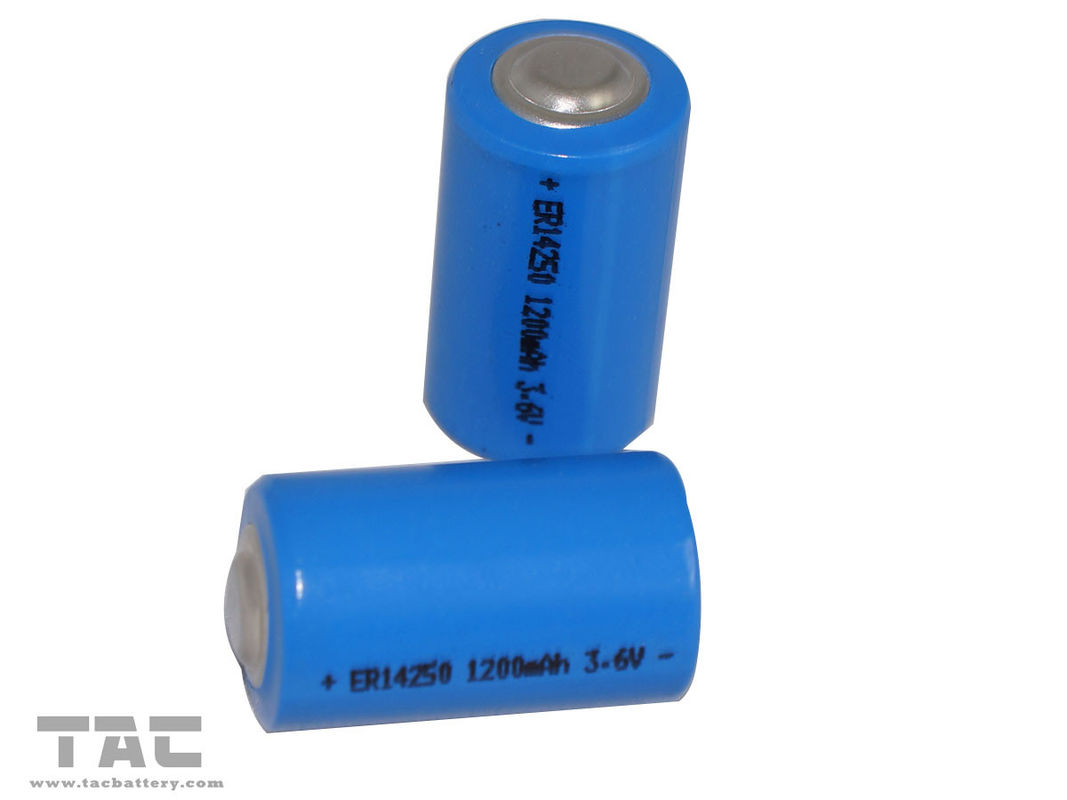 High energy density 3.6V Lithium battery ER14205 1200mAh for Digital control machine
