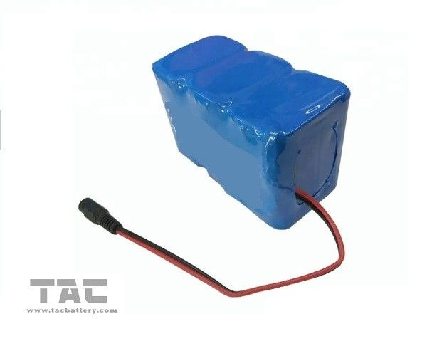 12V 24V LiFePO4 Battery Pack 18650 3.0AH For Tracking System With UL1642