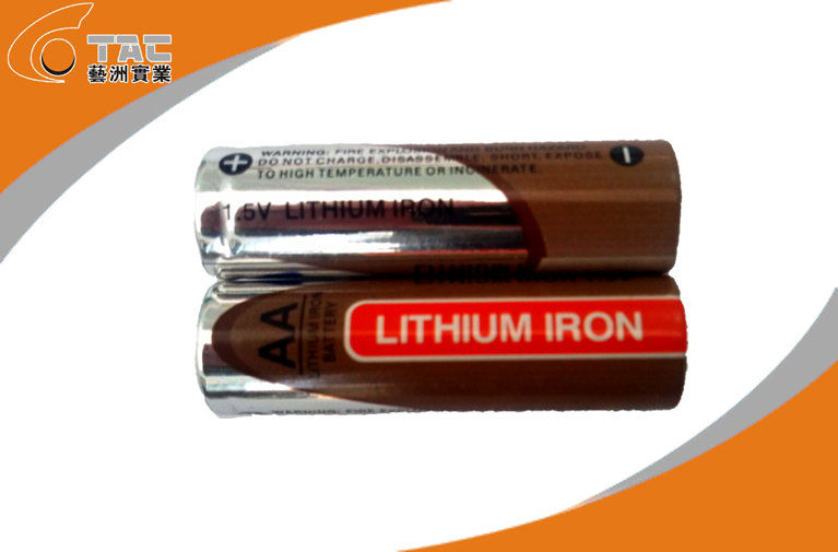 1.5V AA 2700mAh Primary Lithium Iron Battery with High Capacity