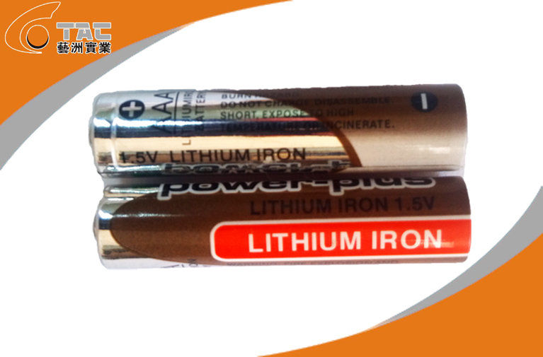 High capacity 1.5V AAA / L92 Primary Lithium Iron Battery with High Rate