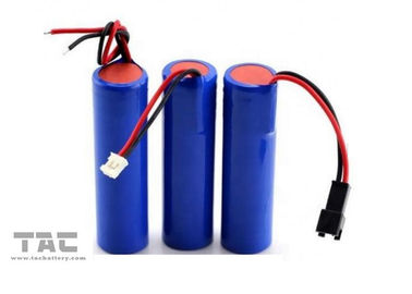Batterie cylindrique de lithium de promotion 18650 2600mah 1s1p pour la machine de position